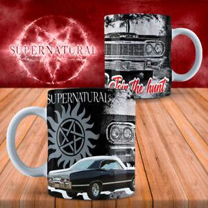 SUPERNATURAL COFFEE/TEA 11oz MUG - VARIOUS DESIGNS - PERFECT GIFT BIRTHDAY