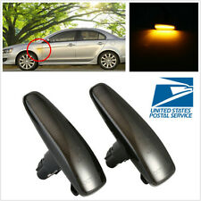 For Lancer EVO X Sport Lamp -Repeater UP Pair Side Fender Smoked Marker Lights