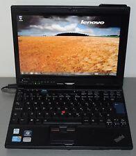 "Lenovo thinkpad X201 Tablet Core i7 4Go SSD128GB 12"" sans bat- GARANTIE 3mois"