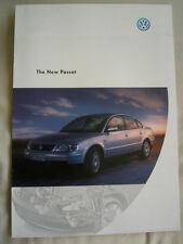 VW Passat range brochure Dec 1997 Australian market
