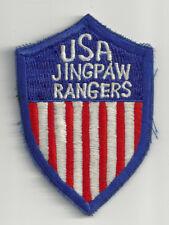 WW2 ERA POST WAR US ARMY JINGPAW RANGERS CUT EDGE SNOW BACK INSIGNIA PATCH WWII