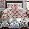 Chic Home Trina 4 Piece Duvet Cover Set Reversible Geometric Medallion Bedding