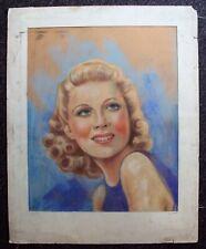 WENDY BARRIE Original Artist Move Film COVER ARTWORK Art Hounds of Baskerville