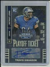 2014 PANINI CONTENDERS PLAYOFF TICKET AUTOGRAPH RC # 181 TRAVIS SWANSON 079/199
