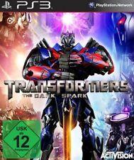 Playstation 3 Transformers RISE OF THE DARK SPARK  Deutsch GuterZust.