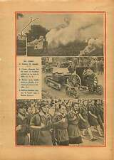 Reichswehr/Tank British Army/Parade Red Army Moskow USSR CCCP 1929 ILLUSTRATION