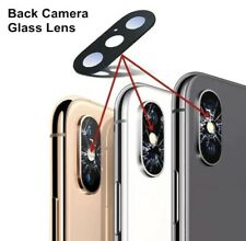 For Apple iPhone XS/XS Max Replacement Glass Back Camera Lens Rear Cover Uk