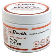C.Booth Honey & Almond Body Butter 8 Ounce Jar