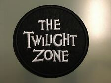 THE TWILIGHT ZONE Rod Sterling Science-fiction -Embroidered Iron On Patch 3""