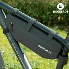 New RockBros Waterproof Bicycle Triangle Bag Large Capacity 3L Riding Black Bag