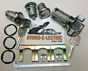 NEW 1969-1978 GTO, Tempest & LeMans-  Ignition, Door, & Trunk Lock Set- GM Keys
