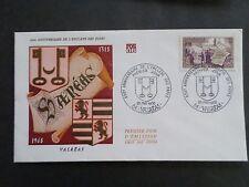 FRANCE 1968 FDC 1° JOUR, VALREAS, ENCLAVE DES PAPES, VF