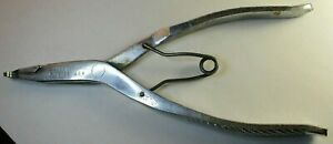"""Craftsman P4735 4735 8-7/8"""" Long Snap Retaining Ring Pliers USA OWNERS MARK"""
