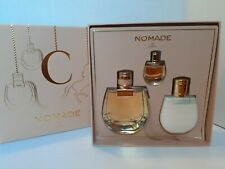 Chloe NOMADE Eau de Parfum, Lotion, & Travel Parfum Gift Box Set Free Shipping!
