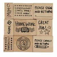 Show Your Work Teacher/'s Wood Mounted Rubber Stamp