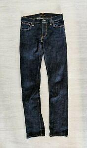 Nudie Thin Finn W31/L34 - Skinny Jeans - blau (denim) - Neuwertig