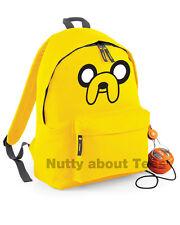 Adventure Time Jake The Dog Bag Rucksack Backpack School college *New*
