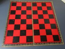 Vintage 1949 Checker board and wooden pieces Whitman Publishing co.