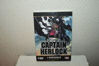 COFFRET INTEGRALE 4 DVD CAPTAIN HARLOCK SPACE PIRATE EDITION GOLD  ALBATOR 2002