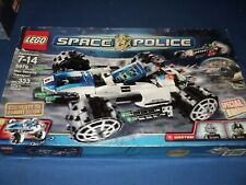 LEGO SPACE POLICE MAX SECURITY TRANSPORT 5979 SPECIAL EDITION CONVERTS TO FLIGHT