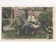 Anxious Moments [JWS 2423] Vintage Postcard 863a