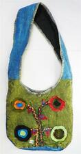 T404 FASHION TRENDY SHOULDER STRAP COTTON BAG  MADE IN NEPAL
