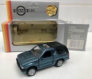 Opel Frontera Sport - GAMA Mini 1003 - 1990's - Neuf