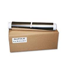 1 Rolle Alufolie 30cm x 120m, 11my   Aluminiumfolie