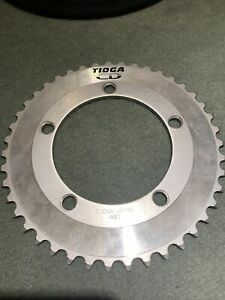 Tioga CD Chainring Chain Ring Silver 43T 110BCD Old School BMX