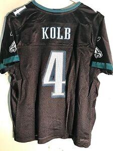 Reebok Women's NFL Jersey Philadelphia Eagles Kevin Kolb Black Alternate sz S