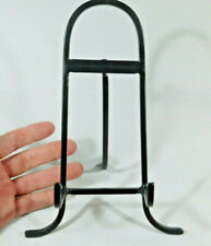 ONE Medium Black Metal Easel Display Stand! Great for Plates Fossils and More!