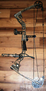 "Mathews Legacy Realtree Solocam 35"" Hunting Compound Bow RH"
