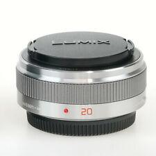 Panasonic Lumix G 20mm f/1.7 II ASPH Lens for Micro 4/3 Cameras H-H020A - Silver