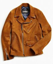 NWT Schott Perfecto X UO Moto Double Rider DR Suede Jacket Size M 626 327UR Tan