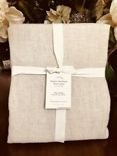 Pottery Barn BELGIAN FLAX LINEN DUVET COVER, King.Cal king , New  W/$299.00 tag