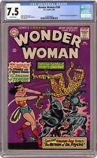 Wonder Woman #160 CGC 7.5 1966 2028499004 1st SA app. Cheetah
