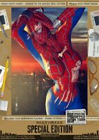 Spider Girl Spider-Girl SEXY RippedNTorn Signed A3 Comic Print Spiderman Marvel