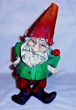"""Garden Gnome Resin Marked Pi 9"""" Inch"""