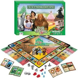 Wizard of Oz Emerald City-Opoly Board Game (mpc)