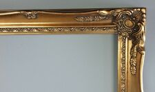 Picture Frame- 20x24 -Vintage Old Bright Gold Antique Style Ornate Baroque #678G