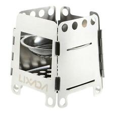 Outdoor Portable Cooking Backpacking Survival Wood Burning Camping Stove O3I3