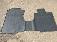 Genuine Honda CRV Front & Rear Rubber Mats ( ** Honda CR-V From 2007 - 2012 ** )