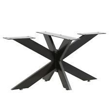Tischgestell Spider Tischbeine Kreuzgestell Tischkufen Tischuntergestell Stahl