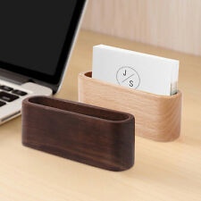 Business card stand ebay wooden desk organizer business card holder display device card stand holder colourmoves