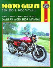 Haynes Manual for Moto Guzzi 750/850 Le Mans & 1000 V-Twins (1974 - 1978) HM0339