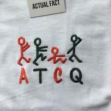A Tribe Called Quest embroidered t-shirt. All sizes. ATCQ. Q-TIP.