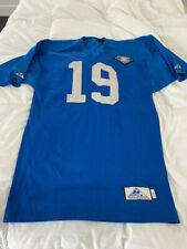1994 Game Used Scott Mitchell Detroit LIONS Jersey signed w/ 75 year patch