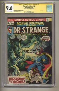 Marvel Premiere 12 (CGC Signature Series 9.6) OW/W Pages; Frank Brunner! (j 195)