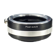 Fuji-M4/3 for Fujica AX Old X Lens to Micro 4/3 Adapter GH4 G6 GF6 E-P5 PL7 OM-D