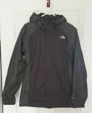 Genuine North Face Boys Grey Jacket Coat Waterproof Youth Size L